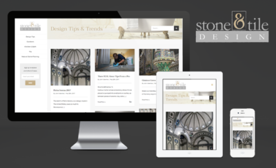 Stone and Tile Design Website Design and Logo Design