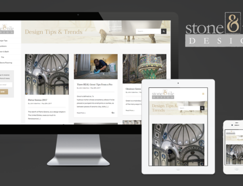 Stone and Tile Design Website