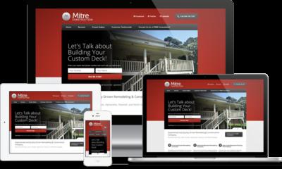 Atlanta Construction Company Website Design