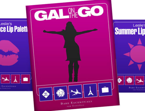 Bare Escentuals Gal On The Go Campaign Poster