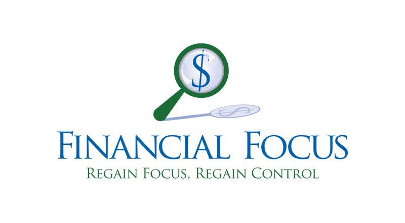 Financial Focus Logo Design Personal Finance Company