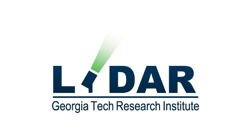 Georgia Tech Research Institute LIDAR Logo