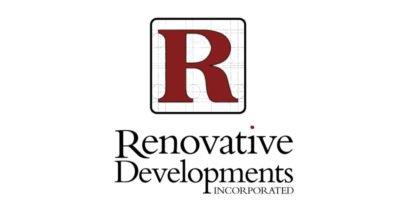 Renovative Developments Construction Company Logo Design