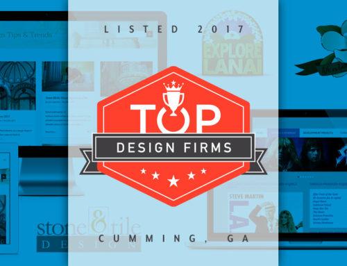 Evans Design Studio Listed Among Top Web Designers in Cumming Georgia