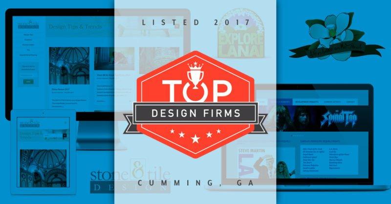 top website design firm 2017 cumming georgia