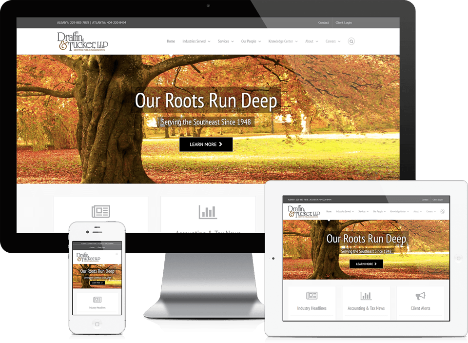 Atlanta Accounting Firm Website Design SEO