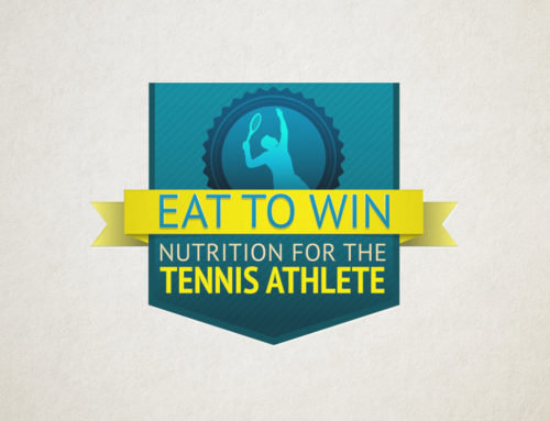 Eat to Win Tennis Nutrition Logo