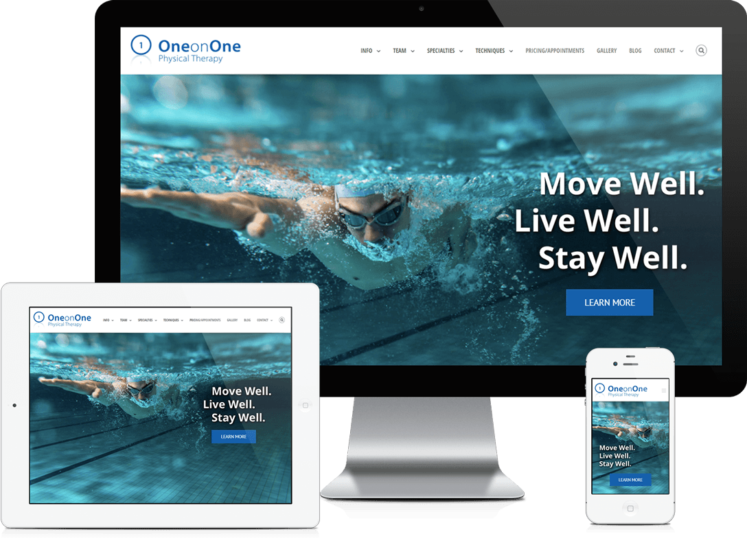 Atlanta Physical Therapy Website Design and Development