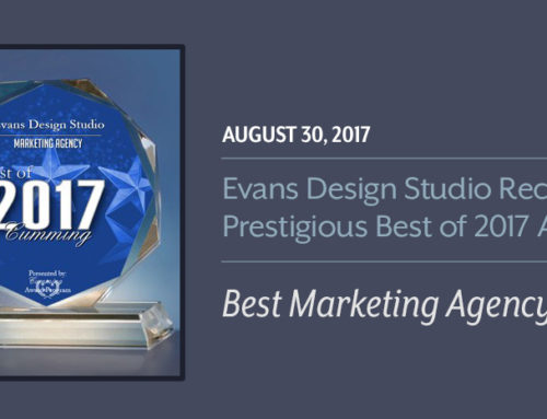 Evans Design Studio Receives 2017 Best Marketing Agency Award