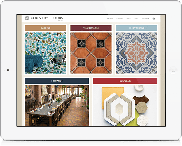 Custom WordPress Website Design for Stone and Tile Design Blog