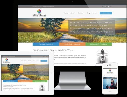 Johns Creek Financial Services Company Website Design