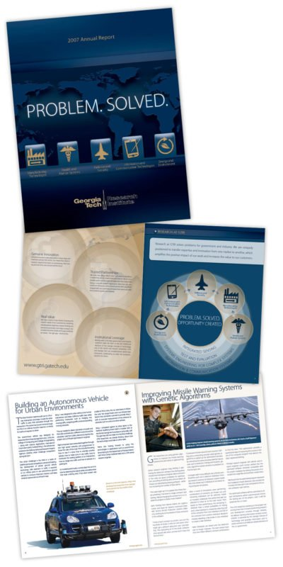 Annual Report Design for Georgia Tech Research Institute
