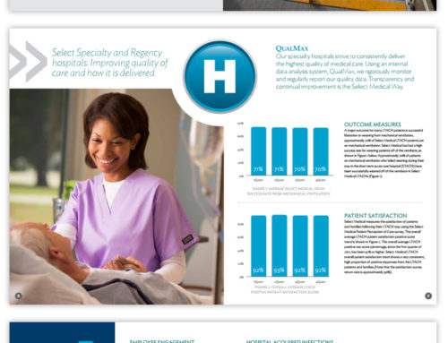 Healthcare Brochure and Report Design