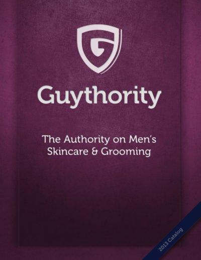 Men's Product Catalog Design