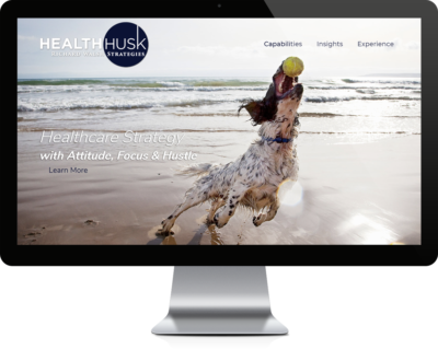 Website Design for a Healthcare Consulting Company