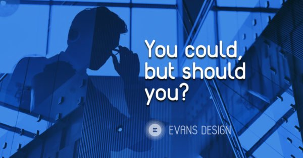 Should you build your own website - user experience and the value of design