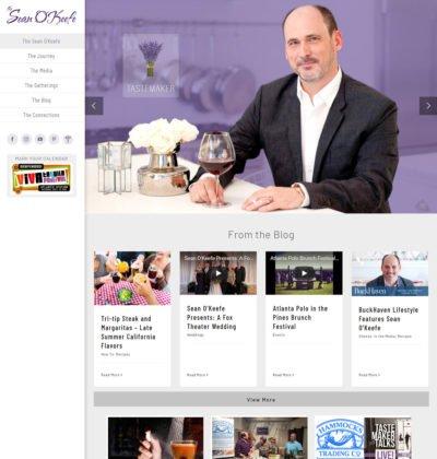 Alpharetta Web Design Sean O'Keefe Atlanta Tastemaker