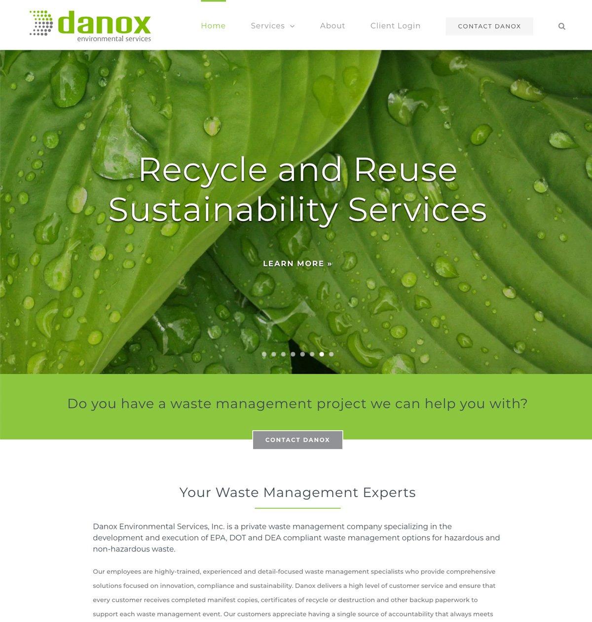 Atlanta Environmental Services Company Website Design