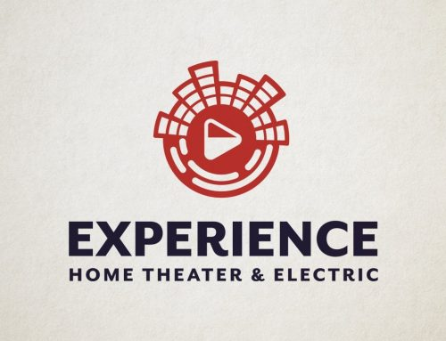 Home Theater Company Logo Design