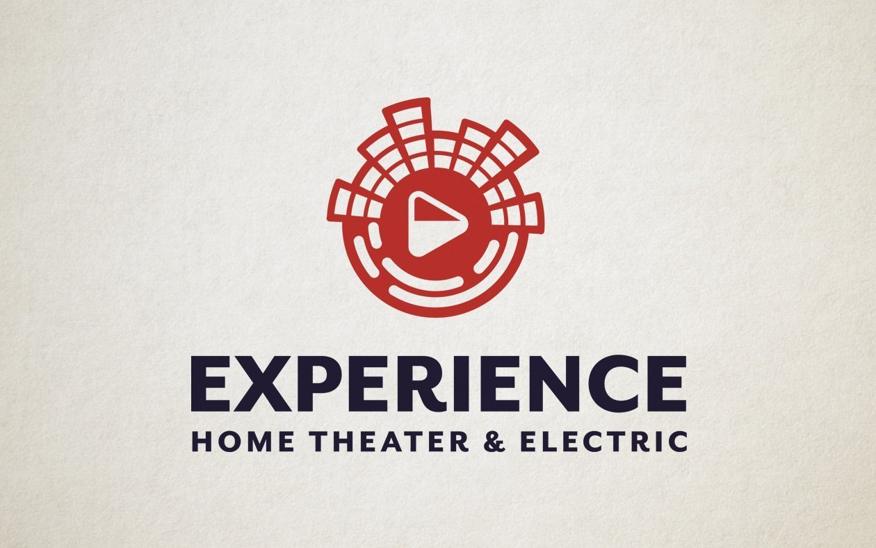 Logo Design for Experience Home Theater Company