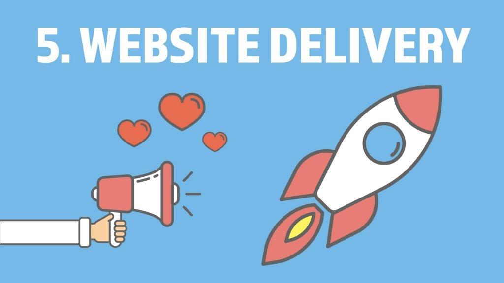 Website Design Project Step 5. Website Delivery