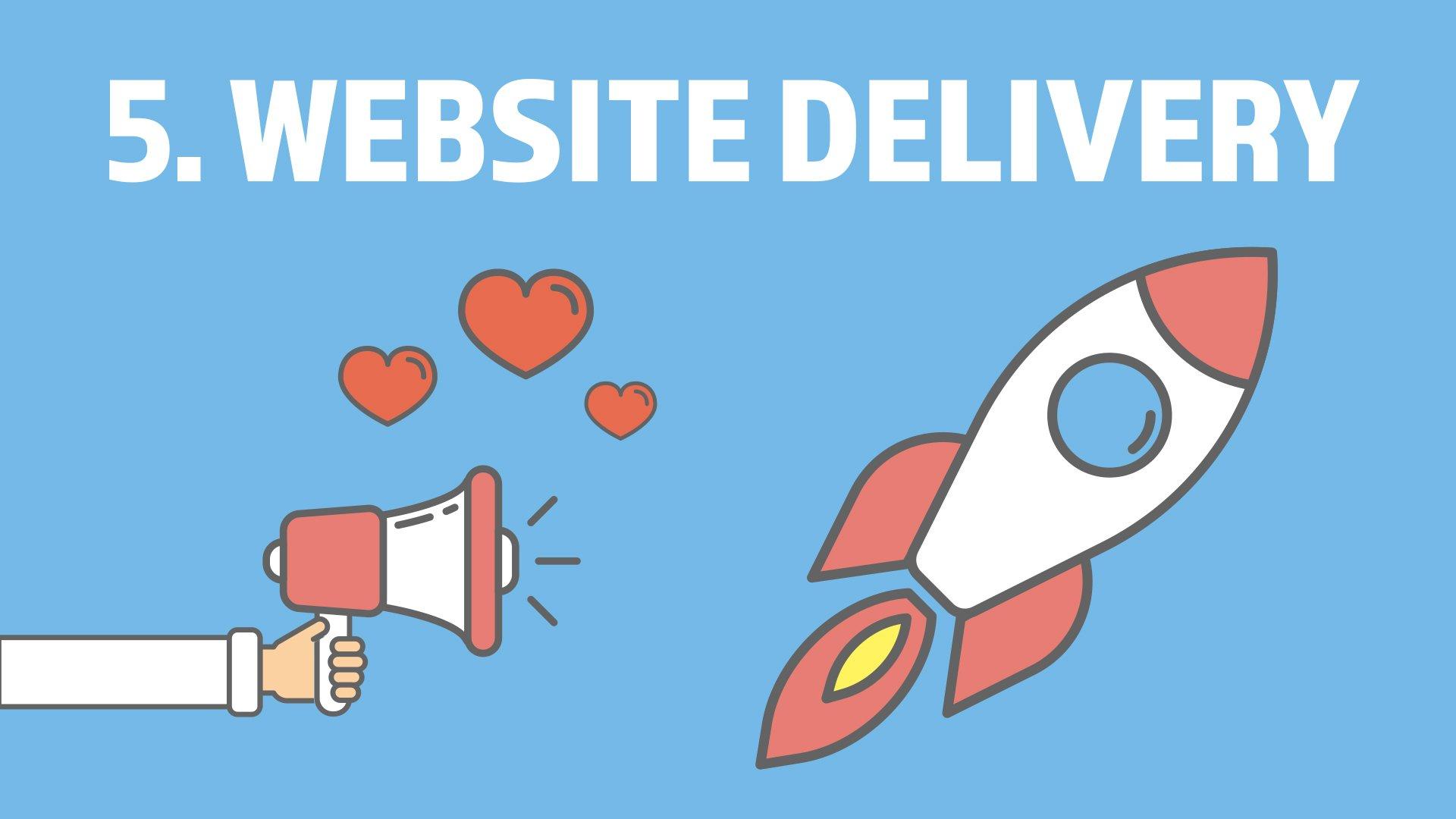 5. Website Delivery