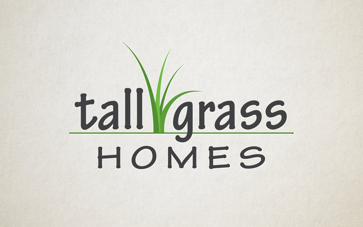 Logo Design - Tall Grass Homes Logo