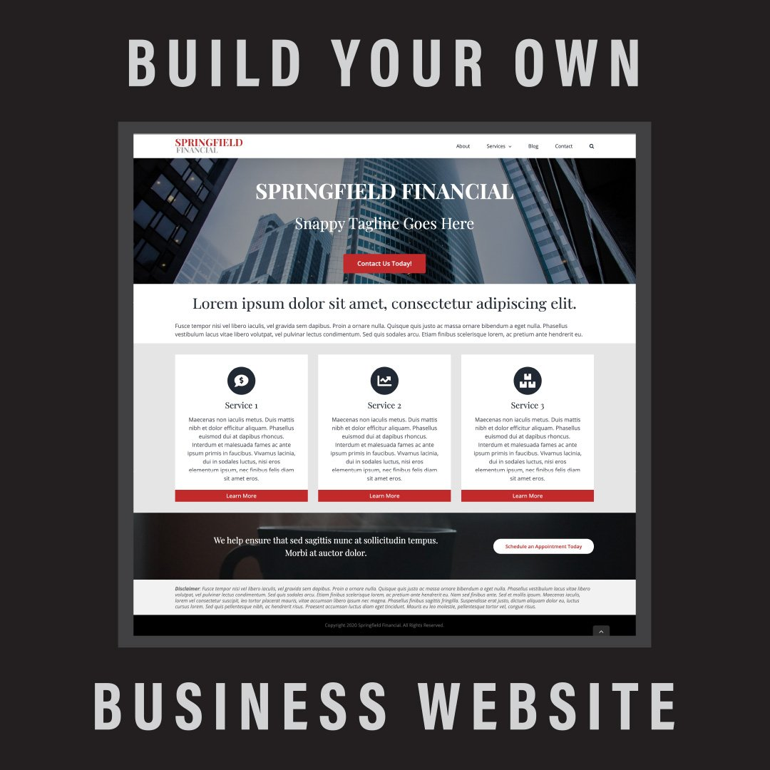 Build Your Own Business Website Like a Pro - A DIY Guide