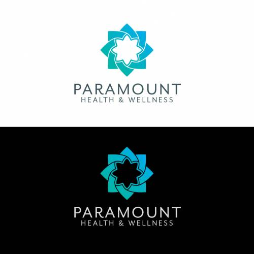 Health and Wellness Logo Vertical Color