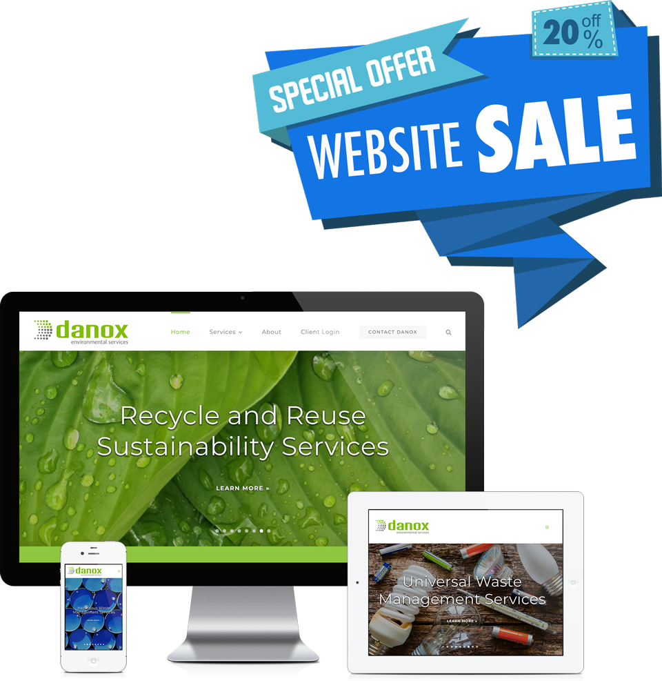 Special Offer: 20% Off Website Sale