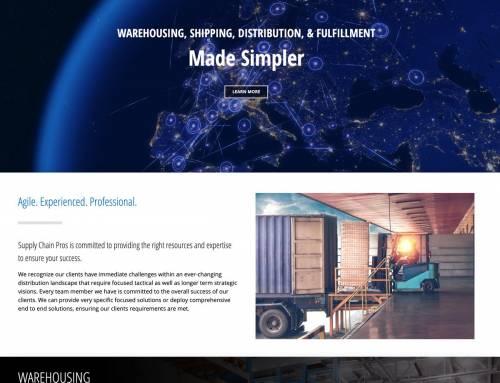 Website Design for North Atlanta Shipping Company